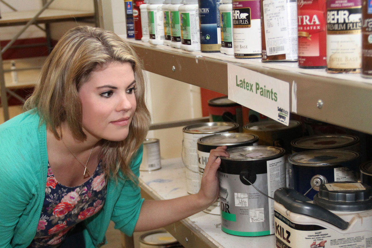 Free paint, cleaning, garden, and automotive products