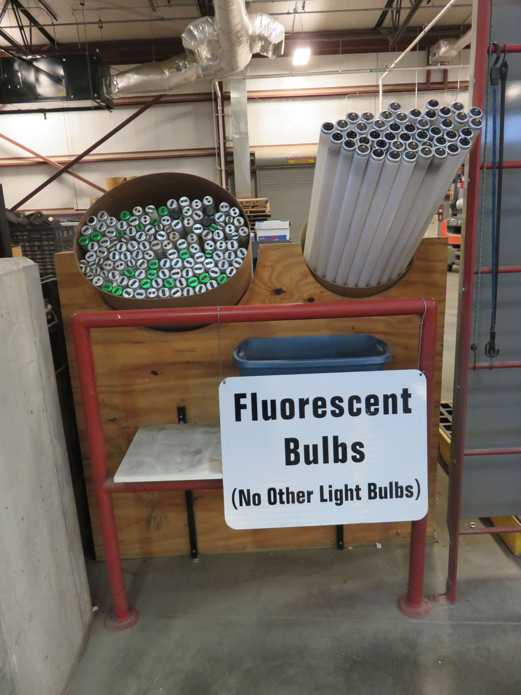 Fluorescent Bulbs Recycling
