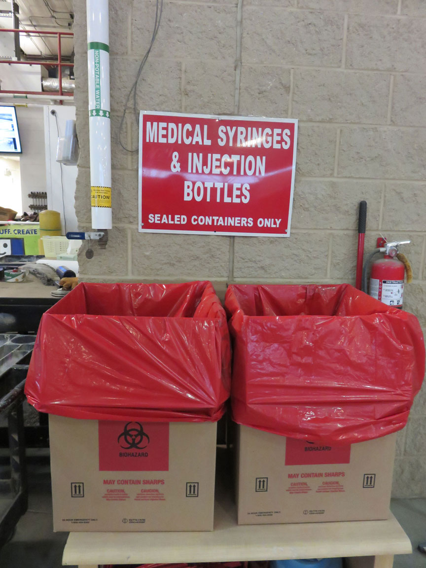 Medical Sharps are Accepted at the Cedar Rapids Linn County Solid Waste Agency
